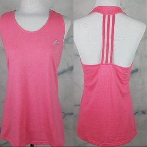 Adidas Pink Derby Flash Racerback Workout TankTop